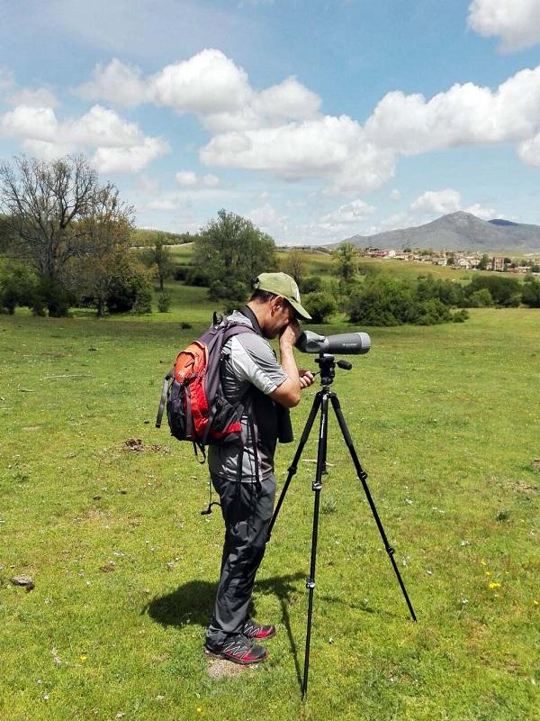 Excursión didáctica Aves de Valsaín