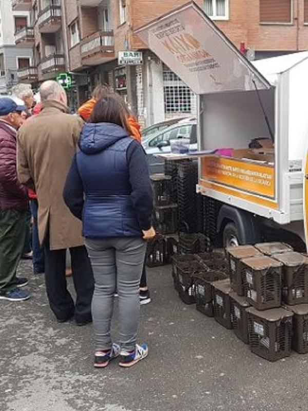 Más de 12.000 familias de Bilbao se suman al uso del contenedor marrón