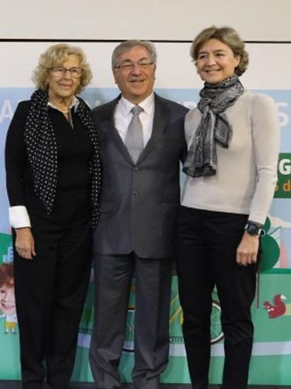 Manuela Carmena agradece que la Comisión Europea reconozca la lucha de Madrid por el medio ambiente