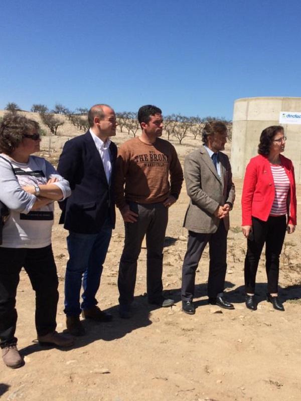 Arranca la flamante estación de depuración de aguas residuales de Uleila del Campo