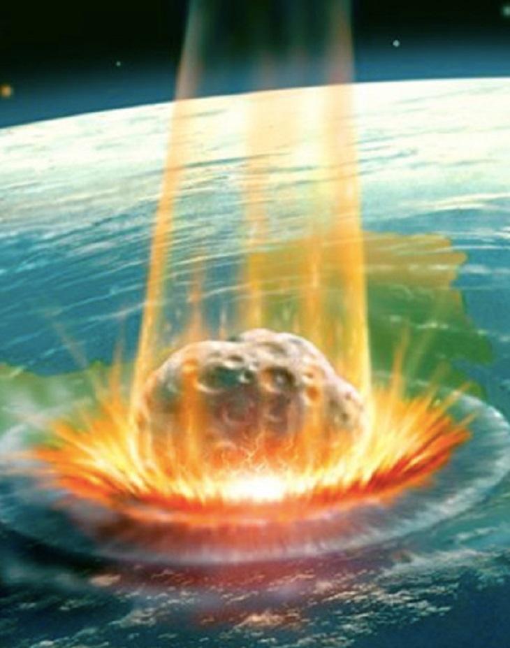 Chicxulub, el asteroide que anego de CO2 el Planeta