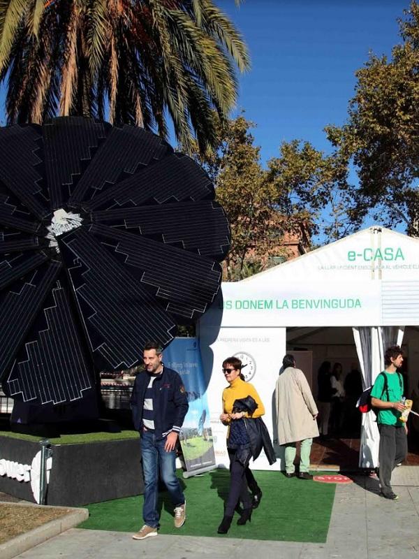 Expoelectric se convierte en un evento autosuficiente al abastecerse de energías renovables