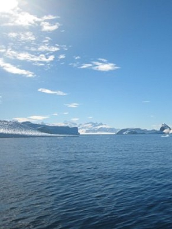 Una barrera invisible reduce a la mitad la absorción de CO2 por el mar