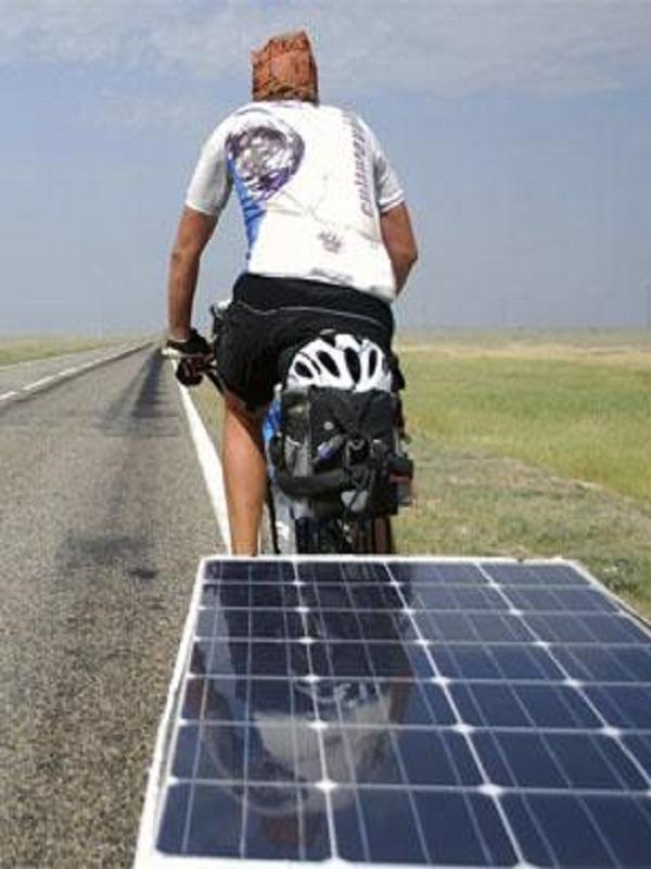 Una bicicleta solar recorrerá España para concienciar sobre el uso de las energías renovables