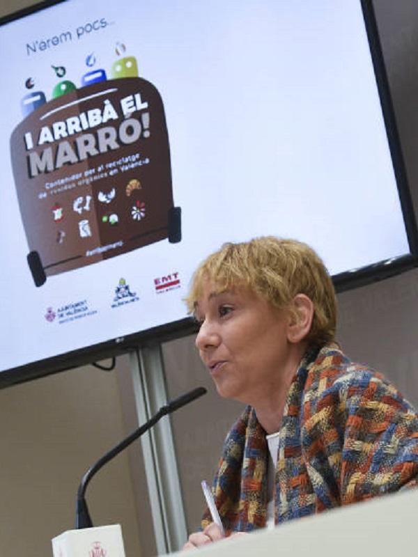 El Ayuntamiento de Valencia ampliará el contenedor marrón a la mitad de barrios