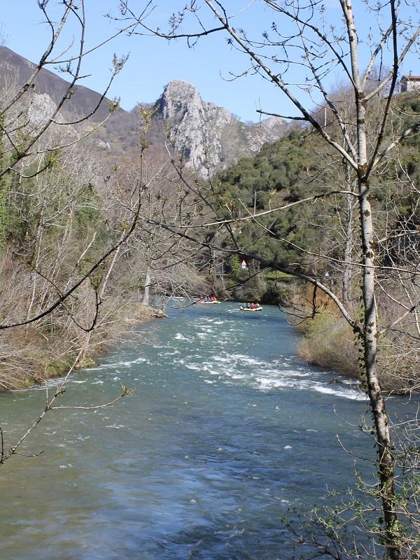 La CHC acomete actuaciones de conservación y mantenimiento de los cauces de ríos en situación de riesgo en Asturias