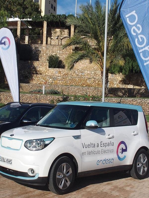 La II Vuelta a España en coche eléctrico de Endesa recala en Barcelona para divulgar sobre movilidad eléctrica