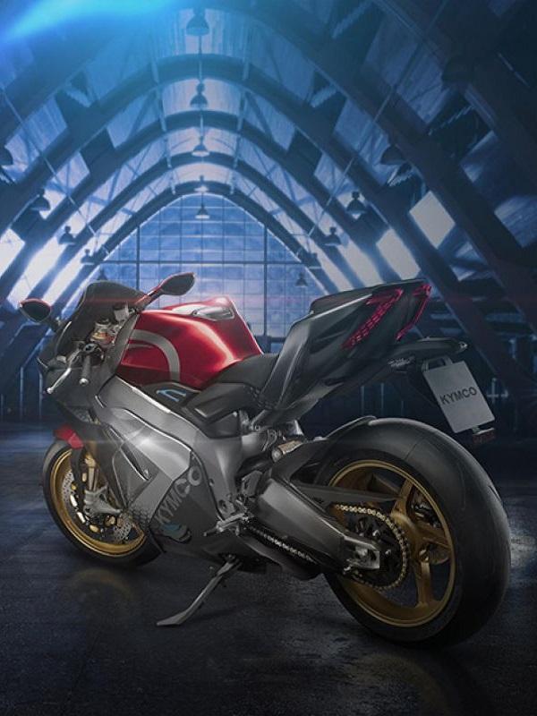 SuperNEX, primera motocicleta superdeportiva eléctrica de Kymco