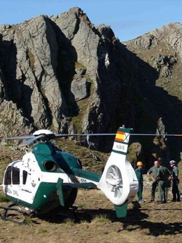 El Servicio de Montaña de la Guardia Civil realiza más de 800 rescates en lo que va de año