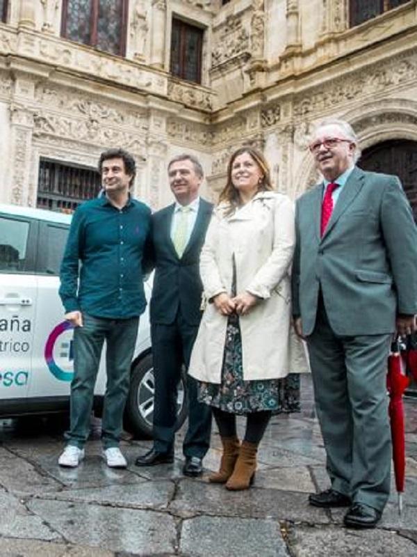 El coche eléctrico de la Vuelta a España de Endesa recorre 1.000 kilómetros por diez euros de consumo