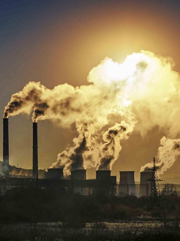 Asturias. Tres días horrible de contaminación lleva Gozón