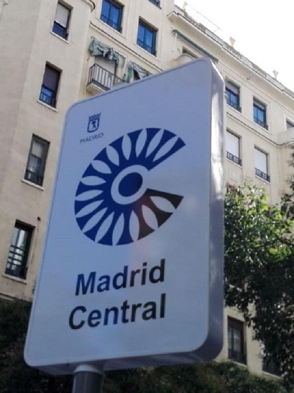 La Asociación de Patinadores de Madrid muestra su apoyo a Madrid Central