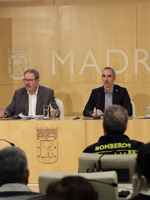 El Ayuntamiento de Madrid presenta el plan movilidad diseñado para la Navidad 2018