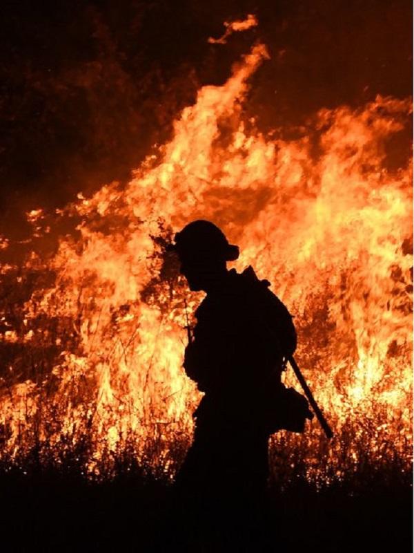 Trump declara el estado de desastre en California por los incendios forestales