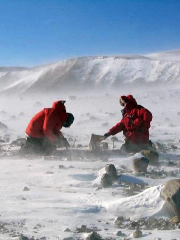 Los ríos moldearon las montañas antárticas antes que el hielo