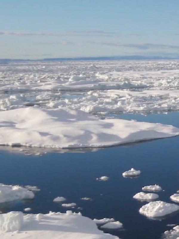 El deshielo antártico retardará el cambio climático pero elevará más el mar