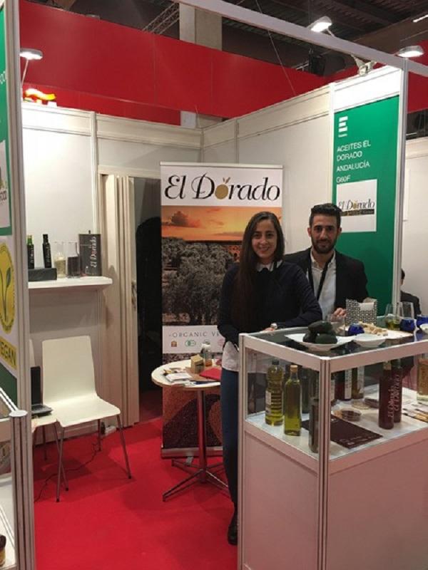 Empresas andaluzas presentan su oferta ecológica en la 'Nordic Organic Food Fair'
