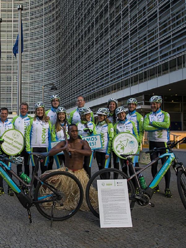 III edición de la marcha ciclista contra el cambio climático
