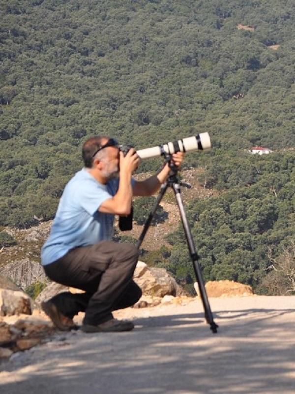 Málaga capital atiende un viaje de periodistas británicos especializados en Ornitología
