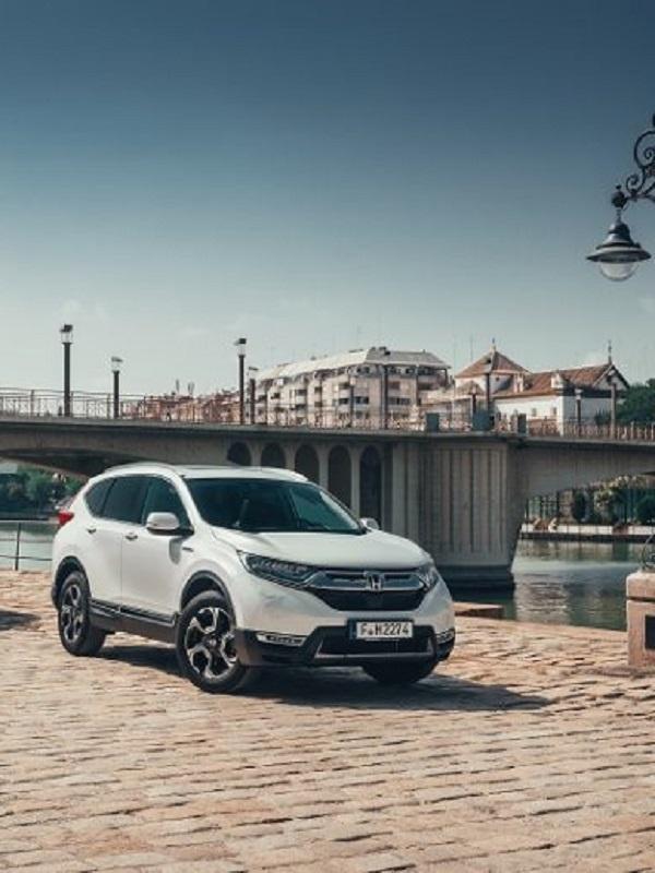 Honda lanza en España la nueva versión híbrida del CR-V