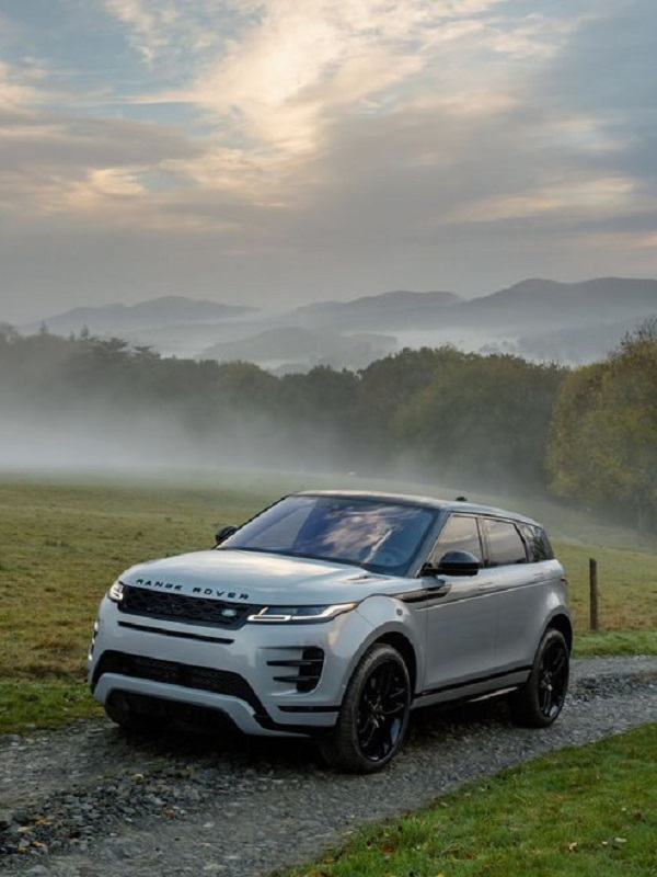 Range Rover Evoque con motor mild-hybrid