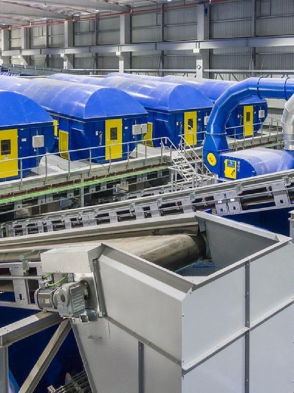 Galicia. La nueva planta de recuperación de materiales de Sogama entra en producción