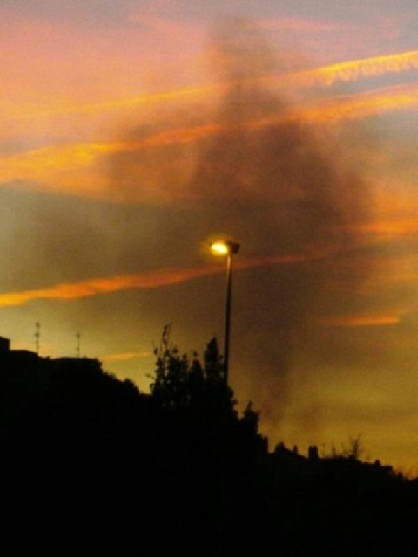 Por 3 día sigue disparada la contaminación en Gijón y eso que no hay anticiclón