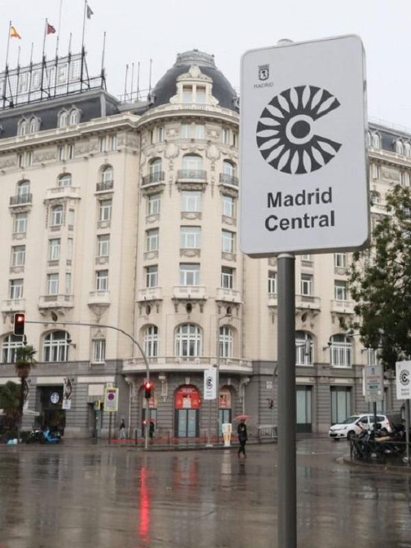 Madrid Central entra en vigor