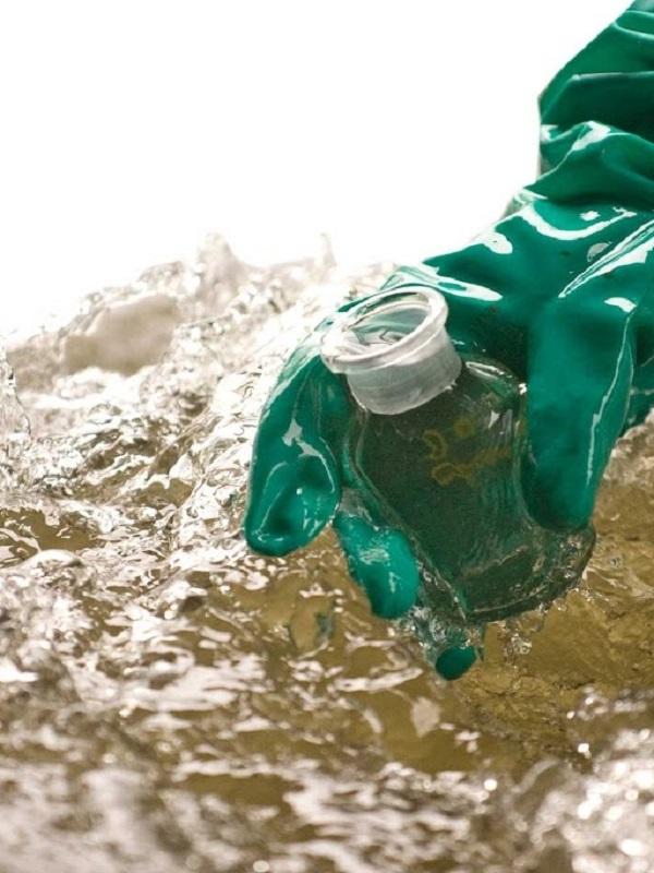 Waba para la descontaminación de aguas