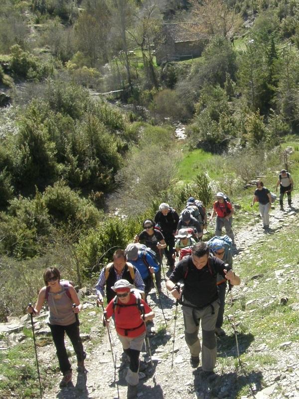 XVII Marcha Senderista y Carrera por Montaña Aragón Sur