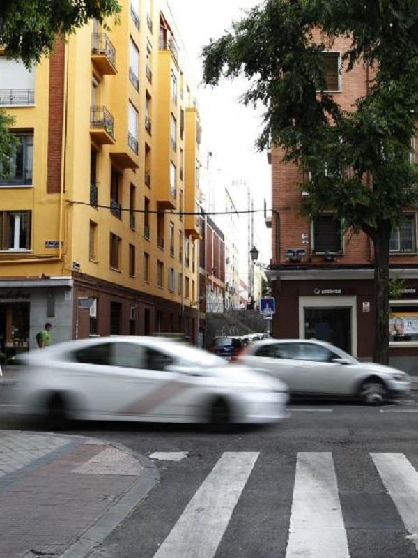 La velocidad de circulación en la mayoría de calles de Madrid se rebaja a los 30km/h
