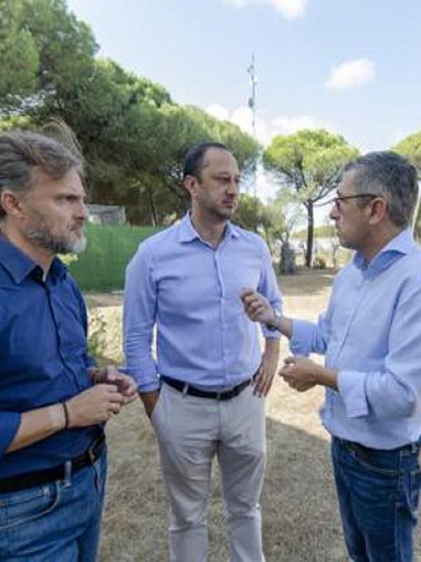 Al fin un secretario de Estado visita Doñana , ya era hora!