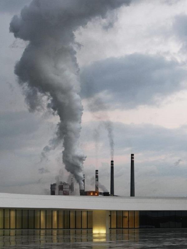 Asturias. Ni la lluvia nos saca de la contaminación en la comarca de Avilés