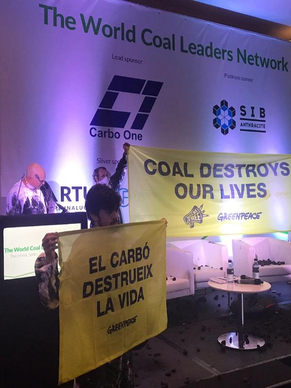 El carbón destruye la vida