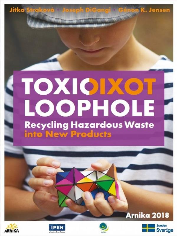 Juguetes de plástico reciclado podrían contener tóxicos peligrosos de residuos electrónicos