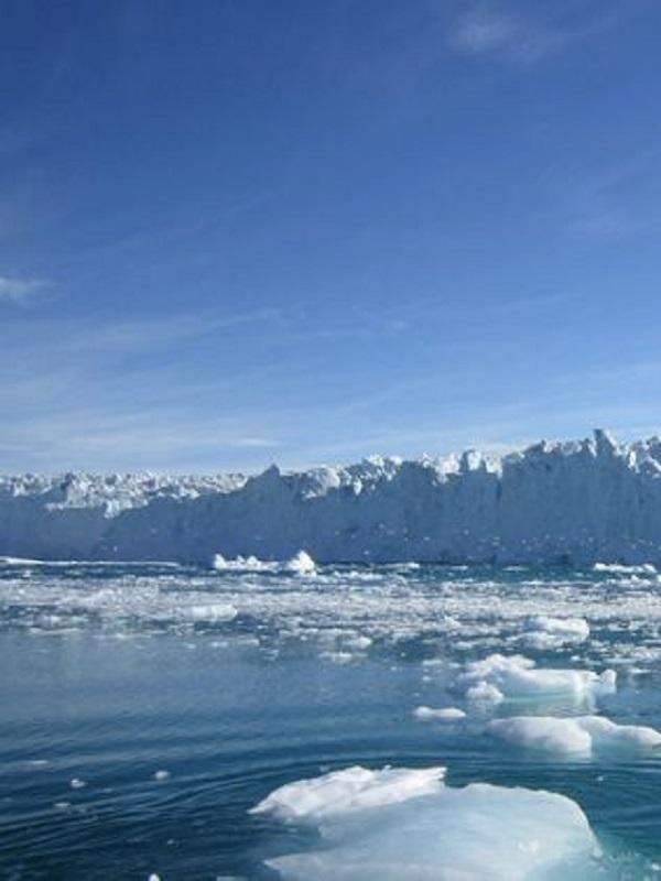 Un zumbido anticipa cambios en la plataforma de hielo antártica