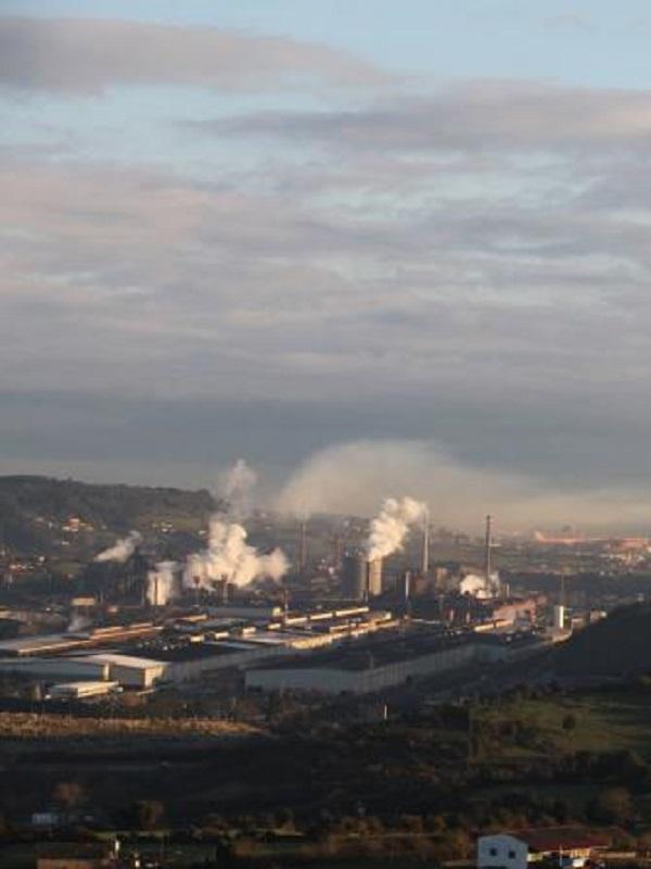 Dos días llevan en alerta por contaminación en Gijón
