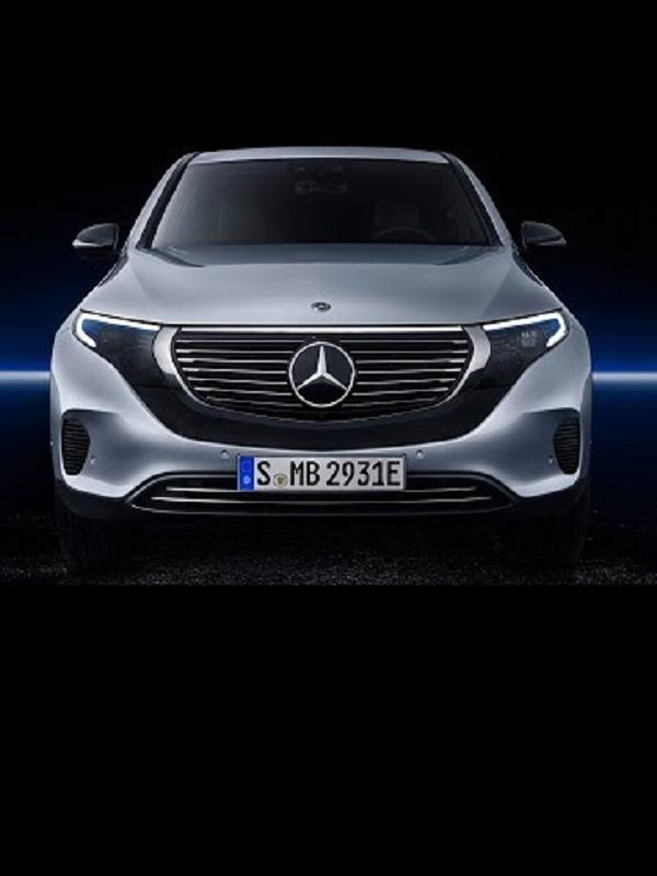 El eléctrico Mercedes-Benz EQC