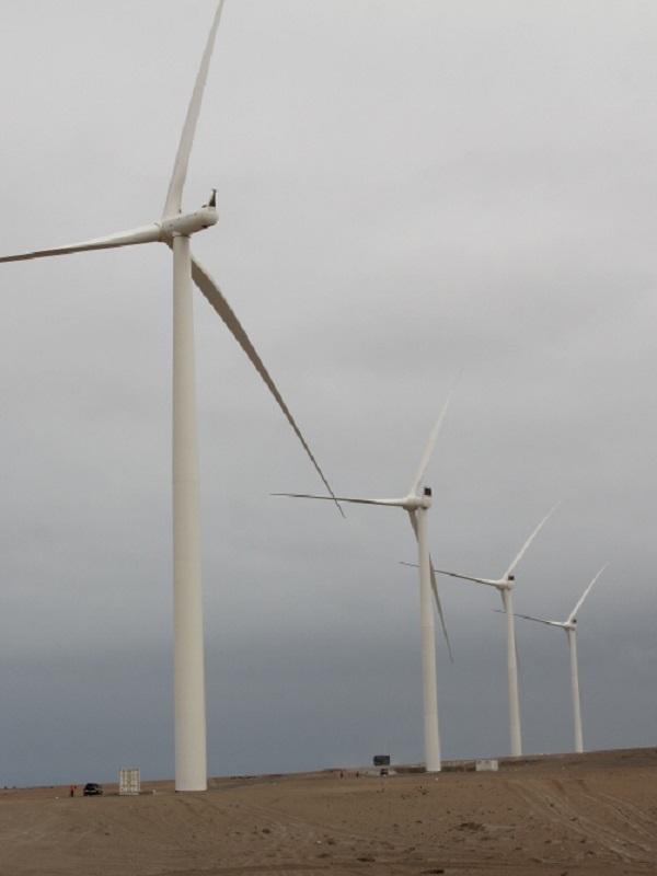 Perú está viviendo una revolución verde con su gigantesco parque eólico
