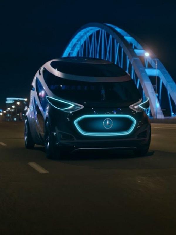 Mercedes-Benz Vans presenta su concepto de movilidad eléctrica y autónoma con el Vision Urbanetic
