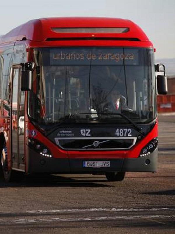 Cinco nuevos híbridos se incorporan a la flota de autobús urbano de Zaragoza este domingo