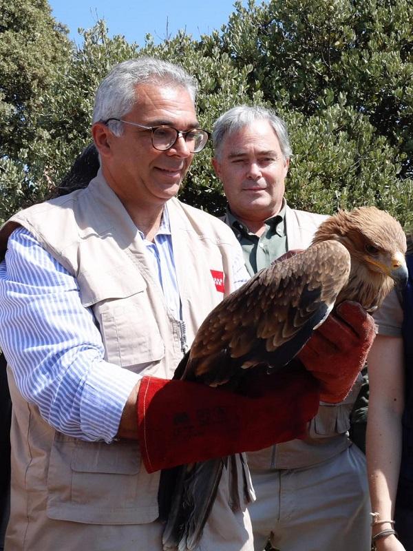 El Parque Regional del Curso Medio del Río Guadarrama, reconocido con la etiqueta de Calidad Wildlife Estates