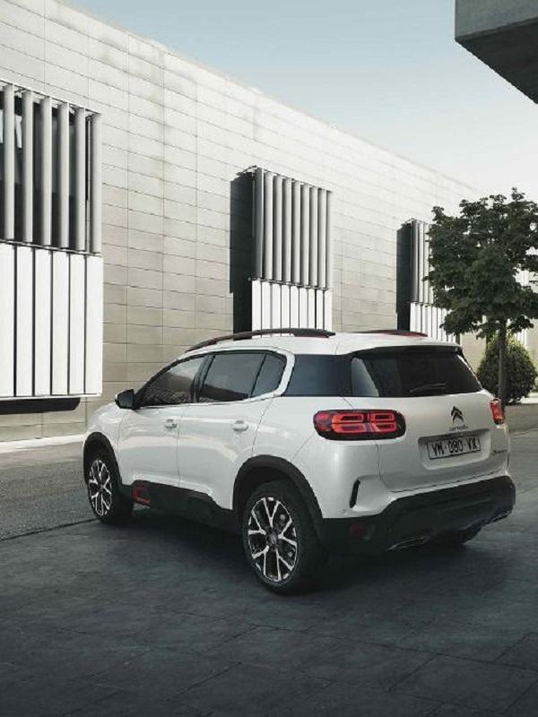 Citroën lanzará la versión híbrida del C5 Aircross a principios de 2020