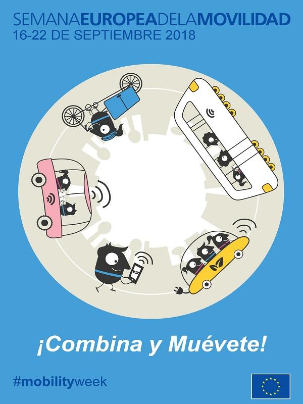 Semana Europea de la Movilidad bajo el lema Combina y Muévete