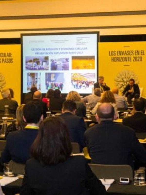 Campaña en Madrid para promocionar la economía circular