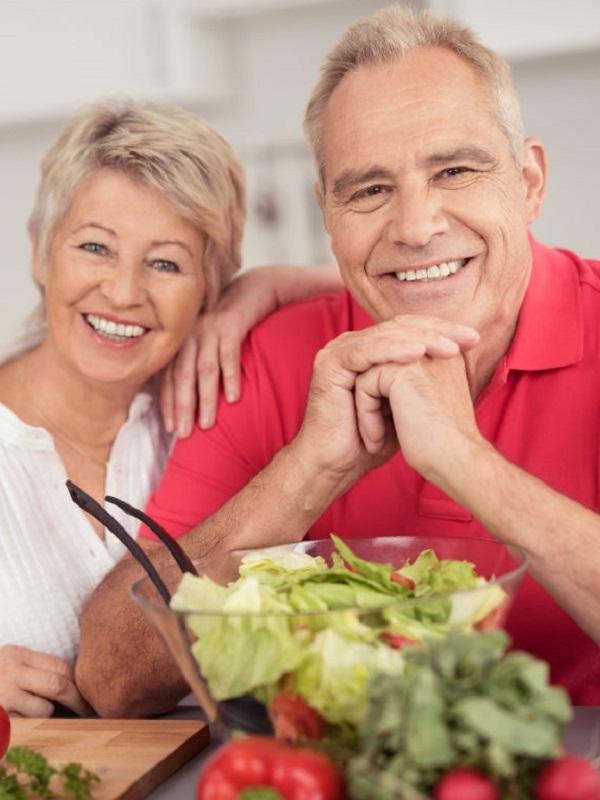 Una dieta saludable para cada edad
