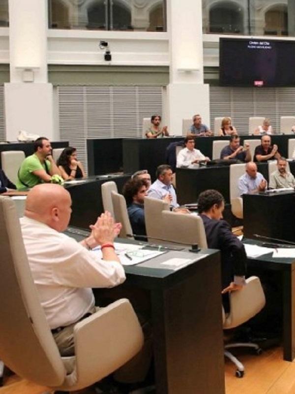 El Pleno municipal de Madrid acoge un debate ciudadano sobre los retos de la movilidad sostenible
