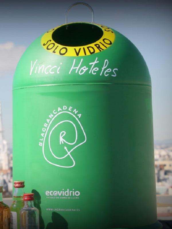 Un laberinto de contenedores verdes simbolizará la falta de corresponsabilidad para la educación ambiental en los hogares
