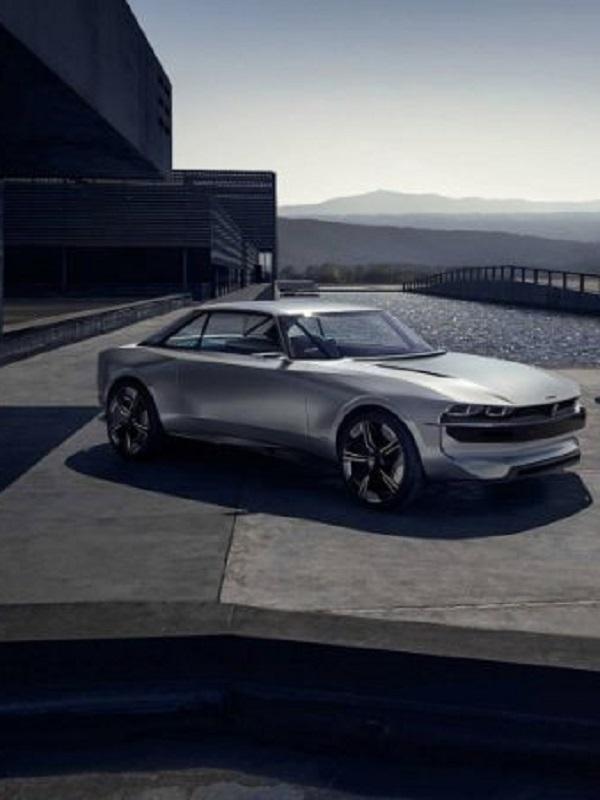 Peugeot eléctrico e-Legend