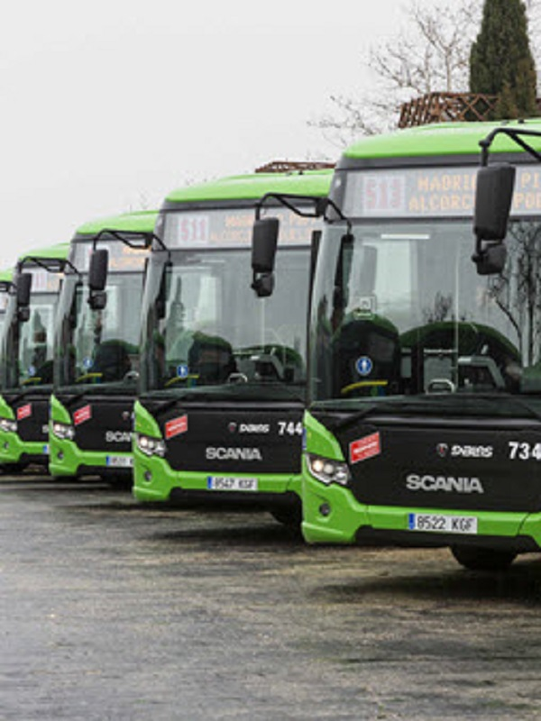 La Comunidad de Madrid ya cuenta con 500 autobuses interurbanos ecológicos